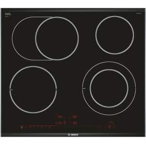Bosch PKN675DP1D, čierna sklokeramická varná doska