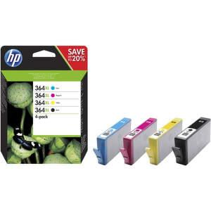 HP N9J74AE No.364XL black + No.364XL color - atrament