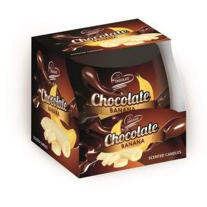 Sweet Home čokoláda-banán, Vonná sviečka
