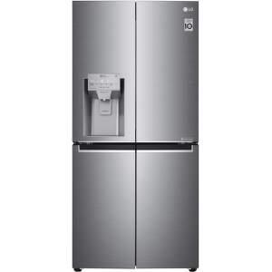 LG GML844PZKZ, strieborná smart americká chladnička
