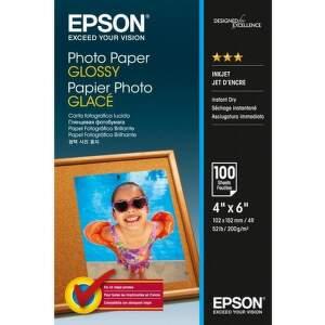Epson Photo Paper Glossy 10x15cm 100 listov