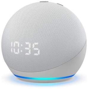 Amazon Echo Dot 4. gen Glacier White (1)