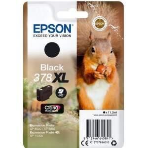 Epson 378 XL Black (C13T37944010) čierna