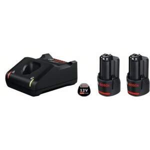 Bosch Professional 2x 12V 2Ah+GAL 12V-40 akumulátor +nabíjačka