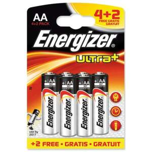ENERGIZER Ultra+ 4+2 LR06