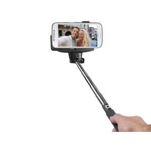 SBS Bluetooth selfie tyč, čierna