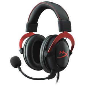KINGSTON HyperX - RED, Headset