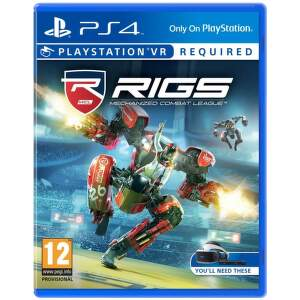 SONY VR RIGS Mech.Comb., PS4 hra