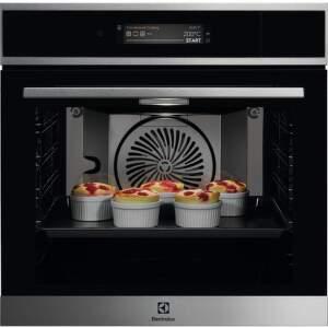 Electrolux 900 SENSE CookView EOA9S31CX, Vstavaná smart parná rúra