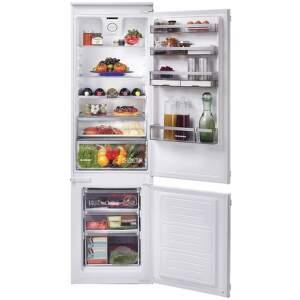 HOOVER BHBS 184 NHG, vstavaná smart kombinovaná chladnička