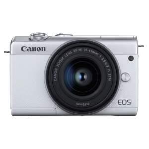 Canon EOS M200 biela + Canon EF-M 15-45mm IS STM