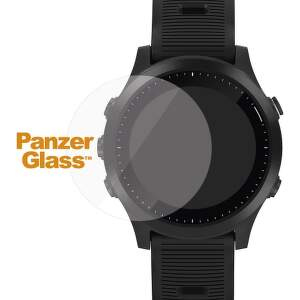 PanzerGlass Flat tvrdené sklo pre SmartWatch 36 mm, Garmin Fenix 5S Plus/Vivoactive 3/Fenix 6S Pro/Fenix 6 Pro, Huawei Watch GT, transparentná