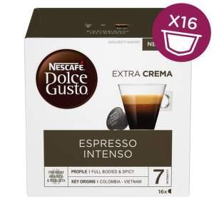 Nescafé Dolce Gusto Espresso Intenso kávové kapsle 16 ks