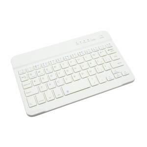 """Mobilnet Slim 7 """" biela bezdrôtová klávesnica"""