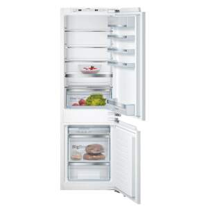 Bosch KIS86AFE0, Vstav. kombin. chladničky
