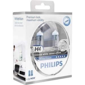 Philips H4 White Vision 2 ks autožiarovky.2