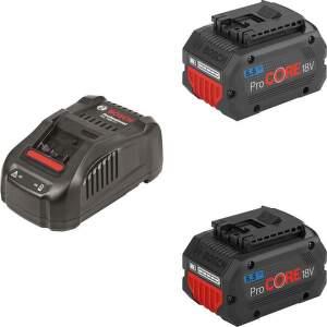 Bosch 2xPC18V5,5+GAL1880 Akumulátor +nabíjačka