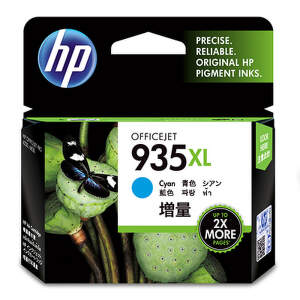 HP C2P24AE Azúrová veľká atramentová náplň HP 935XL Blister