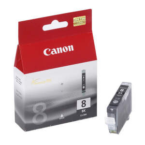 CANON CLI-8 BK, Black ink Cartridge, BL SEC