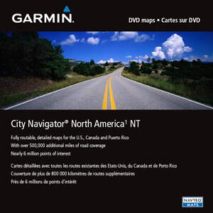 GARMIN City Navigator North America NT, microSD/SD