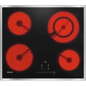 MIELE KM 6520 FR, čierna sklokeramická varná doska