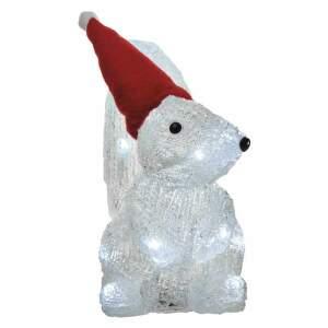 Emos ZY2232 3xAA LED vianočná veverička
