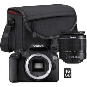 Canon EOS 2000D Value Up Kit EF-S 18-55mm f/3,5-5,6 DC III + Canon SB 130 + pamäťová karta 16 GB