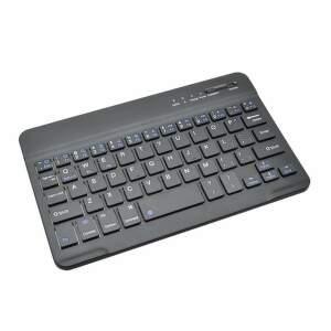 """Mobilnet Slim 7 """" čierna bezdrôtová klávesnica"""