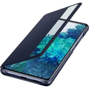 Samsung Clear View knižkové puzdro pre Samsung Galaxy S20 FE modrá