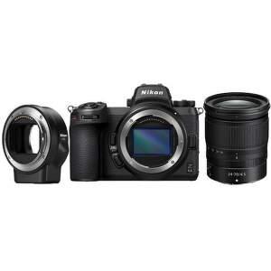 Nikor Z6 II + Nikkor Z 24-70 mm f/4S + FTZ adaptér