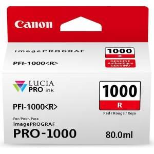 Canon PFI-1000 Red (0554C001) červený