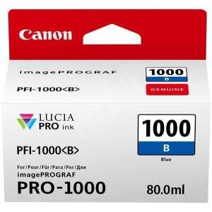 Canon PFI-1000 Blue (0555C001) modrý cartridge