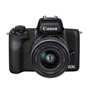 CANON EOS M50 MII 15-45, Set bezzrkadlov