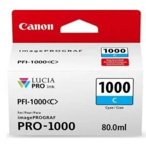 Canon PFI-1000 Cyan (0547C001) azurový