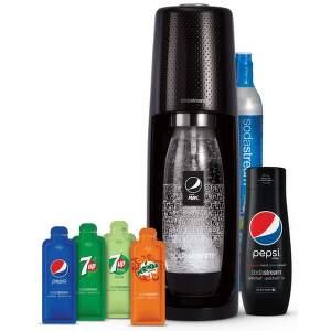 Sodastream Spirit black pepsi megapack.0