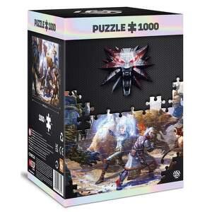 Good Loot Witcher Geralt & Triss in Battle Puzzle 1000.1