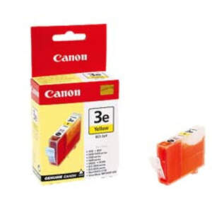 CANON BCI-3eY, YELLOW Ink Cartridge, BL SEC