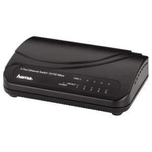 HAMA 49092 5-Port Switch 100/10 Mbps