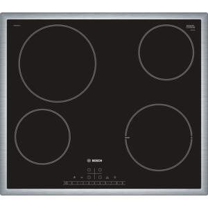 Bosch PKE645FP1E - čierna sklokeramická varná doska