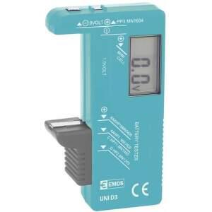 Univerzálny tester batérií