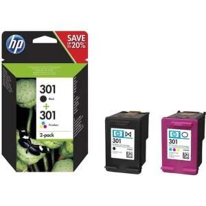 HP 301 sada - čierna a farebná