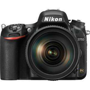 NIKON D750 + 24-120MM - zrcadlovka