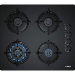 Bosch POH6B6B10 - čierna plynová varná doska