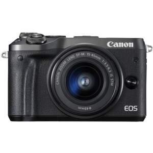 Canon EOS M6 čierna + EF-M 15-45mm IS STM