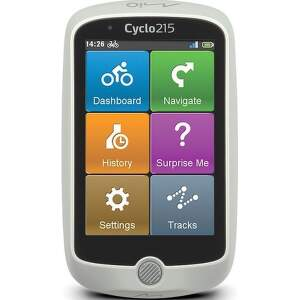 Mio Cyclo 215 HC cyklonavigácia