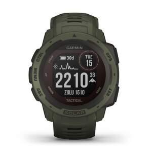 Garmin Instinct Solar smart hodinky tactical moss