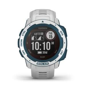Garmin Instinct Solar smart hodinky surf cloudbreak