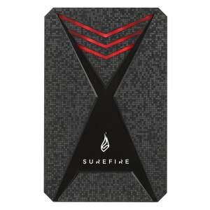 SureFire Gaming Bunker SSD USB 3.2 Gen 1 512GB Black