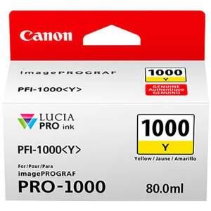 Canon PFI-1000 Yellow (0549C001) žltý