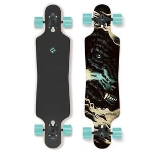 Street Surfing Freeride 39 Curve Wolf Longboard.1
